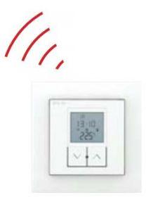 DRL E-Comfort Wist Elegant Draadloze Thermostaat