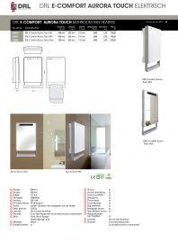 DRL E-Comfort Aurora Touch