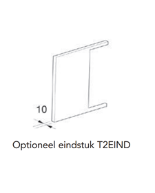 Instamat Serie T2V Dichte eindstukken set 2 stuks