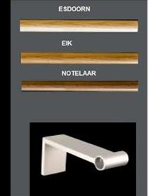 Jaga Mikado Universele Handdoekhouder Geanodiseerd Aluminium