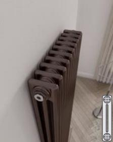 Instamat Leden PR horizontale designradiator 2 kolommer - klassiek - vintage - retro