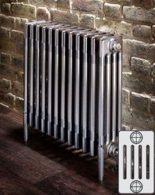 Zehnder Charleston Horizontaal designradiator 5 kolommer