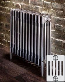 Zehnder Charleston Horizontaal designradiator 6 kolommer
